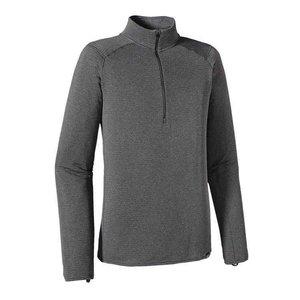 Patagonia M's Cap TW Zip Neck Forge Grey - Feather Grey X-Dye