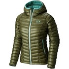 Mountain Hardwear Ghost Whisperer Hooded Down Jacket Stone Green