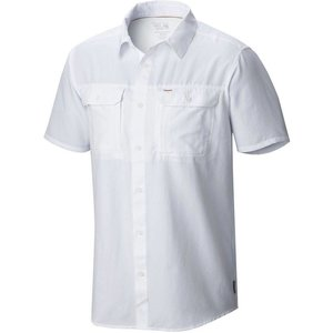 Mountain Hardwear Canyon Short Sleeve Shirt White