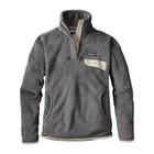 Patagonia W's Re-Tool Snap-T P/O Feather Grey - Ink Black X-Dye