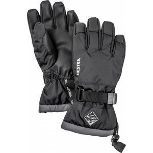 Hestra Gauntlet CZone Jr. - 5 finger Black/Graphite