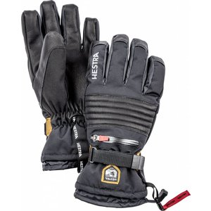 Hestra All Mountain CZone - 5 finger Black