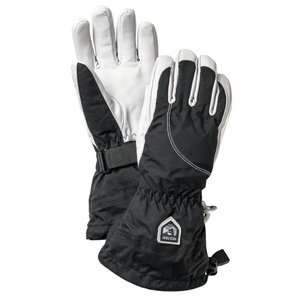 Hestra Heli Ski Female - 5 finger Black/Offwhite