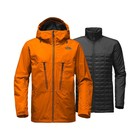 The North Face M THERMOBALL SNOW TRICLIMATE JACKET Hawaiian Sunset Orange
