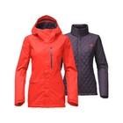 The North Face W THERMOBALL SNOW TRICLIMATE JACKET Fire Brick Red