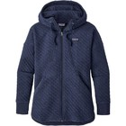 Patagonia W's Cotton Quilt Hoody Navy Blue