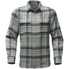 The North Face M L/S ARROYO FLANNEL High Rise Grey Plaid