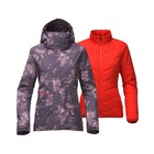 The North Face W GARNER TRICLIMATE JACKET Dark Eggplant Purple Granite Bloom Print