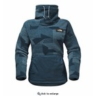 The North Face W RIIT P/O Monterey Blue Thicket Print/Monterey Blue