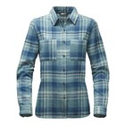 The North Face W L/S WILLOW CREEK FLANNEL Egyptian Blue Plaid