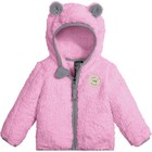 The North Face INFANT PLUSHEE BEAR HOODIE Lilac Sachet Pink