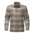 The North Face M L/S THERMOCORE SHIRT High Rise Grey Plaid