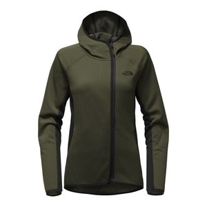 The North Face W ARCATA HOODIE New Taupe Green/TNF Black