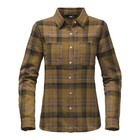 The North Face W L/S WILLOW CREEK FLANNEL TNF Oatmeal Heather Plaid