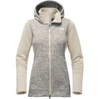 The North Face W INDI 2 HOODIE PARKA Vintage White Heather