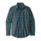 Patagonia M's L/S Pima Cotton Shirt River Miles Plaid: Elwha Blue