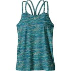 Patagonia W's Latticeback Tank Reef Waves: Big Sur Blue
