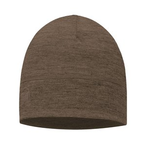 Buff Lightweight Merino Wool Walnut Brown