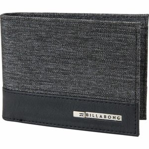 Billabong DIMENSION WALLET BLACK HEATHER ONE