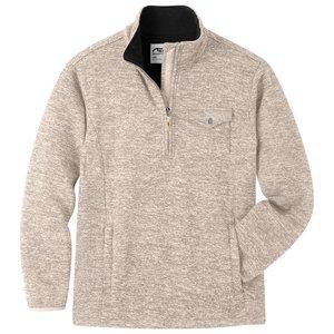 Mountain Khakis Old Faithful Qtr Zip Sweater Oatmeal