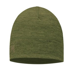 Buff LTWT Merino Wool Hat Green