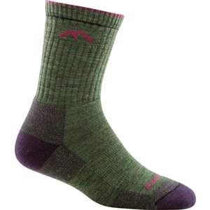 Darn Tough Hike / Trek Hiker Micro Crew Sock Cushion Moss Heather