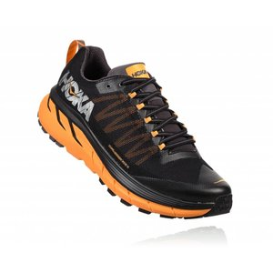 Hoka One One M CHALLENGER ATR 4 BLACK / KUMQUAT