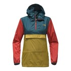 The North Face W FANORAK Olivenite Yellow Multi