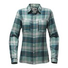 The North Face W L/S CASTLETON SHIRT Bristol Blue Sierra Plaid