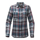The North Face W L/S CASTLETON SHIRT Dusty Blue Sierra Plaid