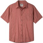 Mountain Khakis Men's Outdoorist Signature Print Shirt Rojo