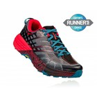 HOKA M SPEEDGOAT 2 BLACK / TRUE RED MEN'S
