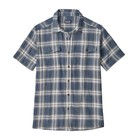 Patagonia M's Steersman Shirt Ascent Plaid: Dolomite Blue