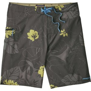 Patagonia M's Stretch Planing Boardshorts - 20 in.Valley Flora: Forge Grey