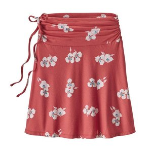 Patagonia W's Lithia Skirt Mariposa Lily: Static Red