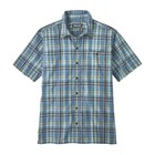 Patagonia M's Puckerware Shirt Splitter: Railroad Blue