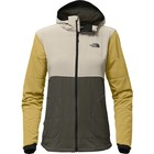 The North Face W MOUNTAIN SWEATSHIRT FULL ZIP HOODIE New Taupe Green Multi Print