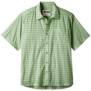 Mountain Khakis Men's Oxbow Crinkle Short Sleeve Shirt Envy