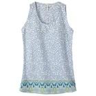 Mountain Khakis Women's Emma Tank Linen Print