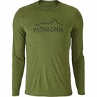 Patagonia M's Cap Daily L/S Graphic T-ShirtRune Age: Sprouted Green X-Dye