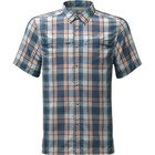The North Face M S/S VENT ME SHIRT Shady Blue Plaid