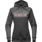 The North Face W EDGE TO EDGE PULLOVER HOODIE TNF Dark Grey Heather