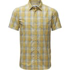 The North Face M S/S HAMMETTS SHIRT Olivenite Yellow