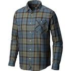 Mountain Hardwear Men's Franklin Long Sleeve Shirt Machine Blue