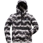 The North Face Men's Campshire Pullover Hoodie High Rise Grey California Basket Print