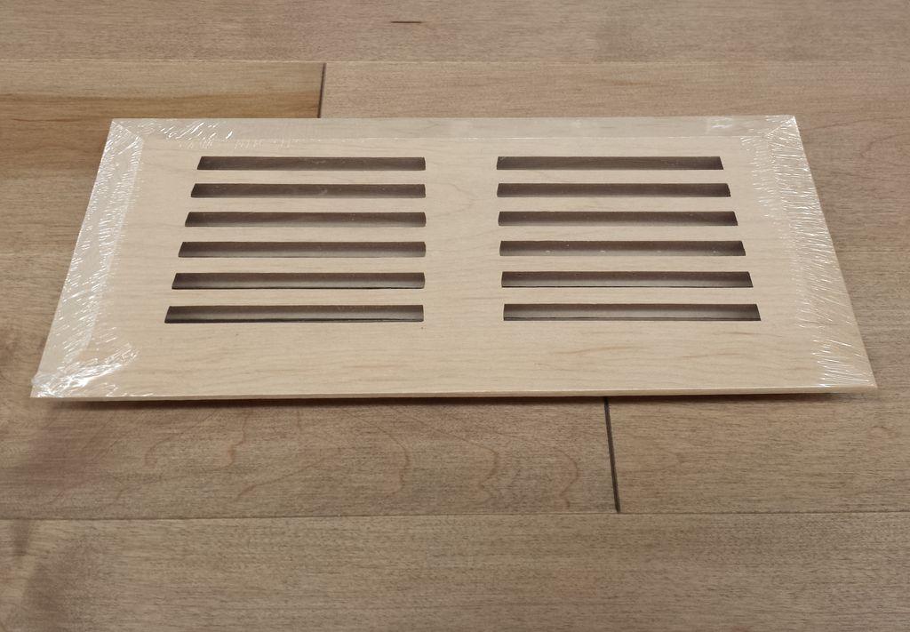 groupe finitec grille de ventilation mod le surface merisier 4 x 10 le march du bois inc. Black Bedroom Furniture Sets. Home Design Ideas