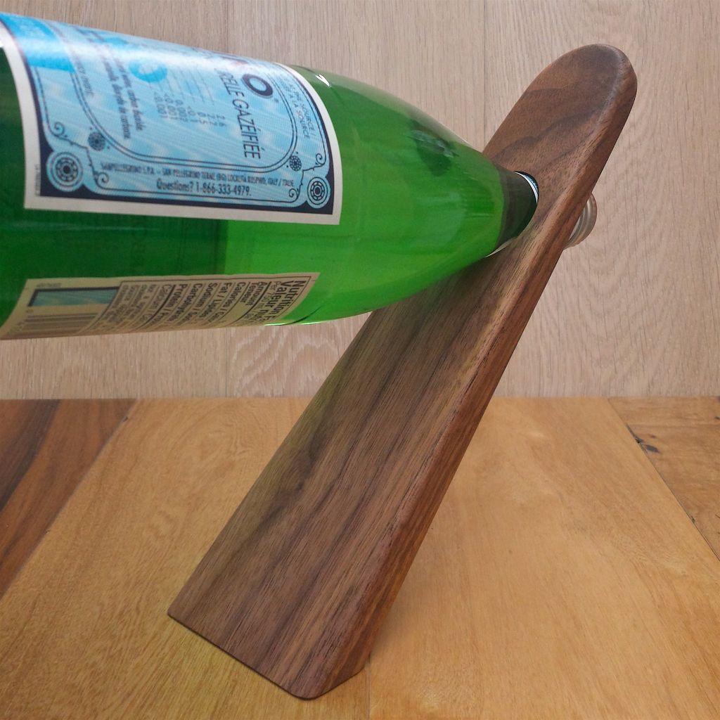 le march du bois support bouteille de vin le march du bois inc. Black Bedroom Furniture Sets. Home Design Ideas