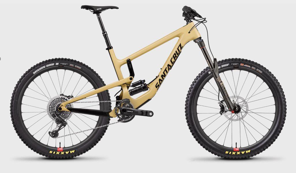 Santa Cruz 2018 Nomad4 - CC XO1, Reserve, Bike