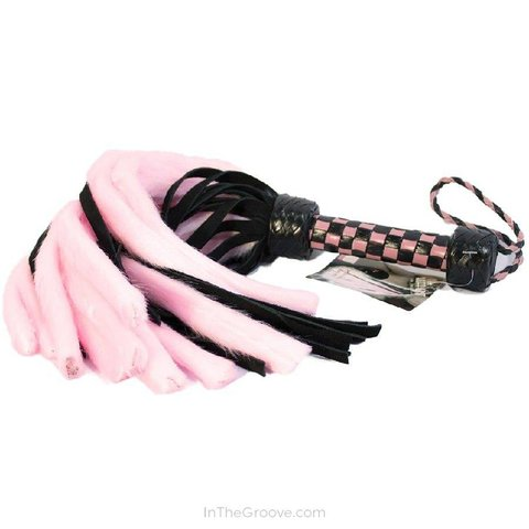 Suede and Fluff Flogger