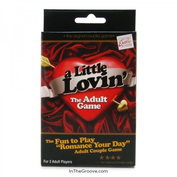 California Exotic A Little Lovin Game